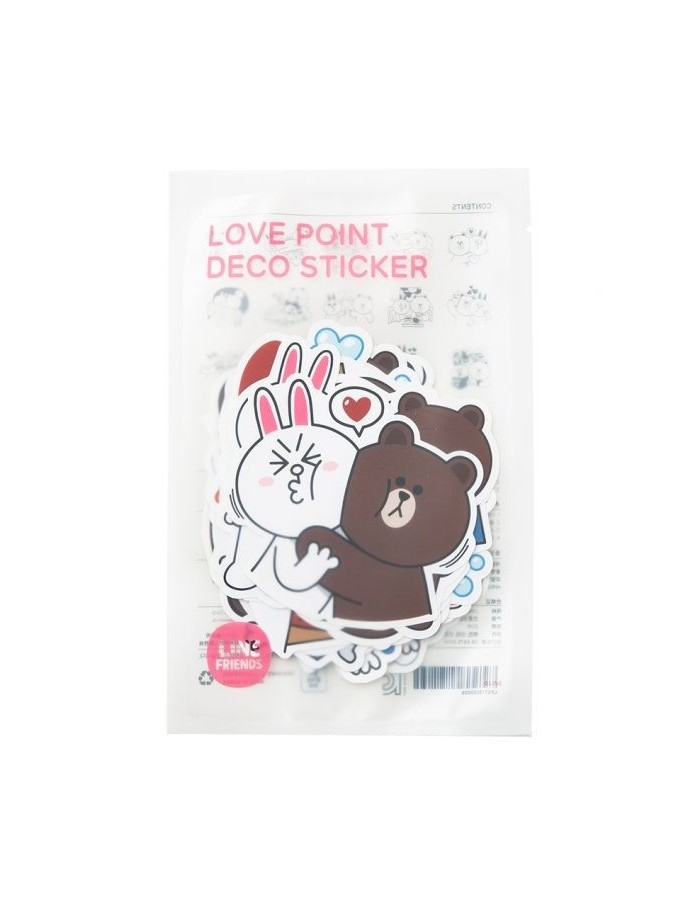 [LINE FRIENDS Official Goods] Love Point Deco Sticker