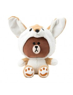 [LINE FRIENDS Official Goods] Fox Brown Doll (25cm)