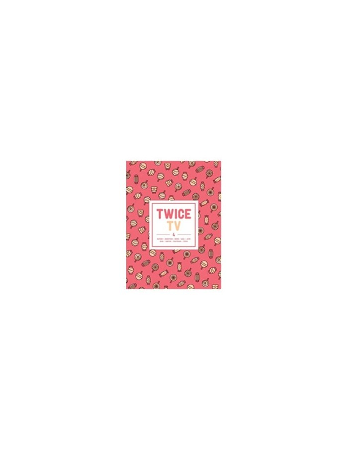 TWICE - TWICE TV4 DVD (3Discs) (LIMITED EDITION)