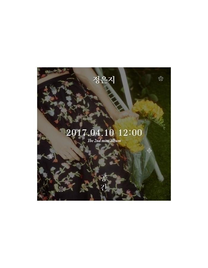 JUNG EUN JI (APINK) 2nd Mini Album - 공간 CD + Poster