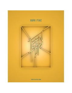 TEENTOP 2nd Album - HIGH FIVE (ONSTAGE ver) CD + Poster