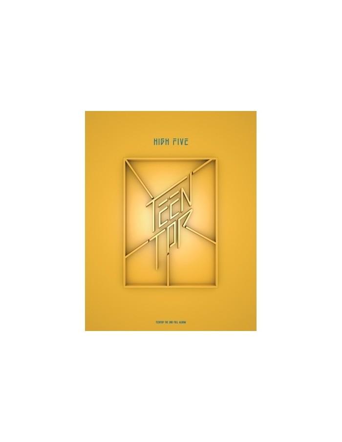 TEENTOP 2nd Album - HIGH FIVE (ONSTAGE ver) CD + Poster