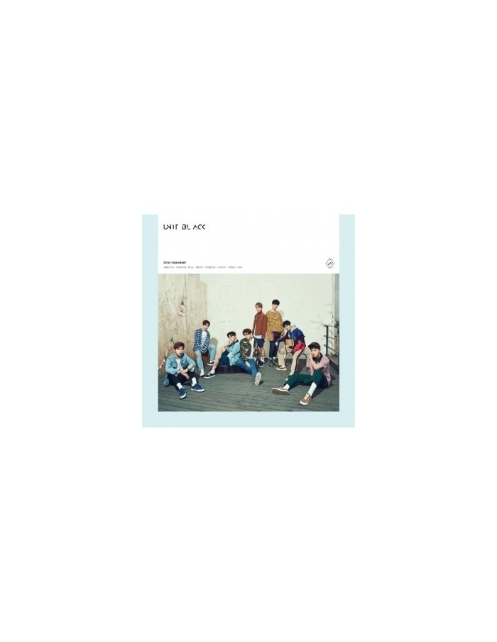 UNIT BLACK - Steal Your Heart CD + Poster [B VER]
