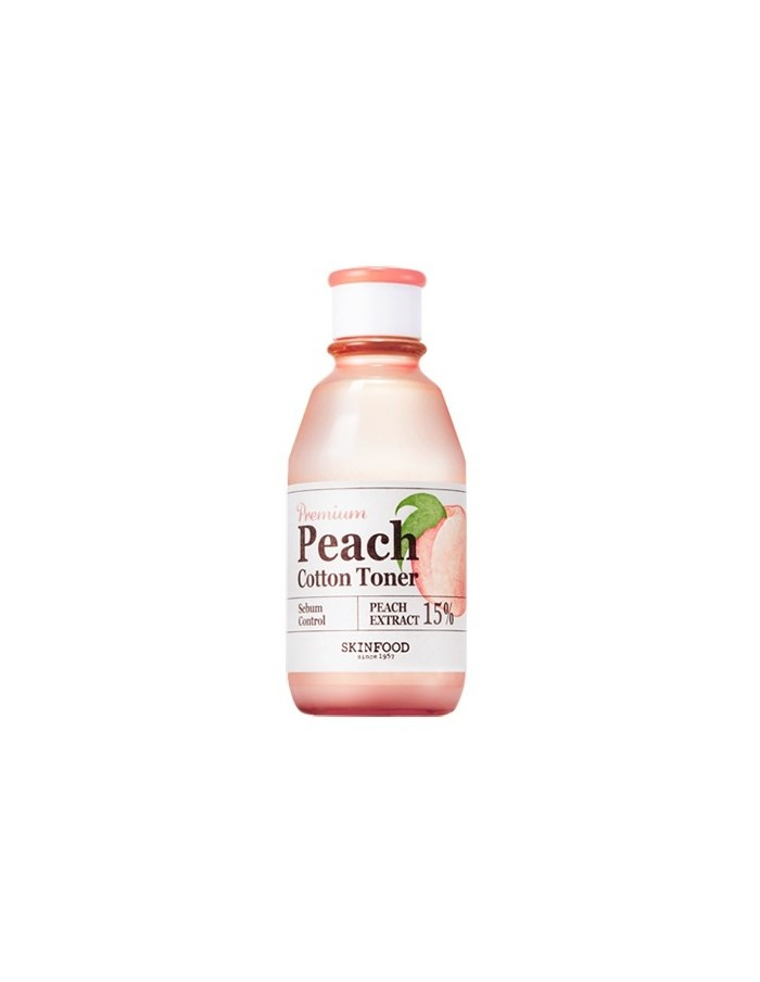 [Skin Food] Premium Peach Cotton Toner 175ml