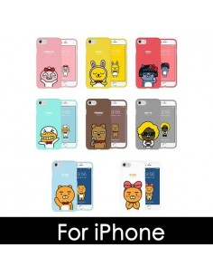 [ KAKAO FRIENDS ] KAKAO Soft Jelly Phone Case - FOR iPhone