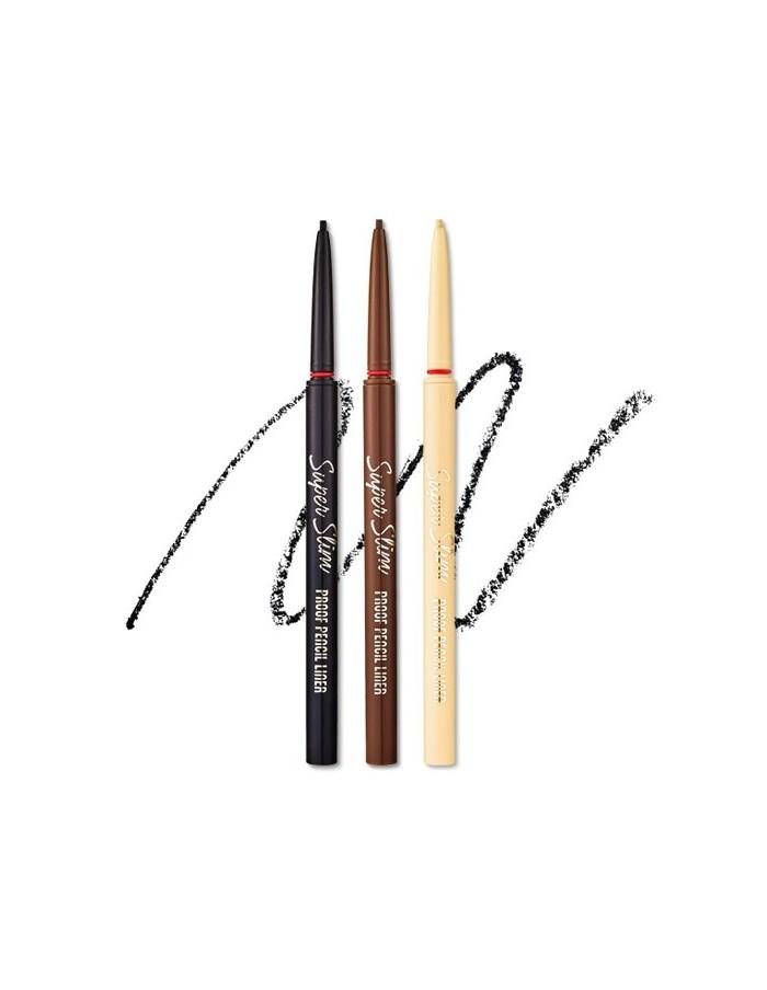 [ETUDE HOUSE] Super Slim Proof Pencil Liner 0.08g (3Colors)