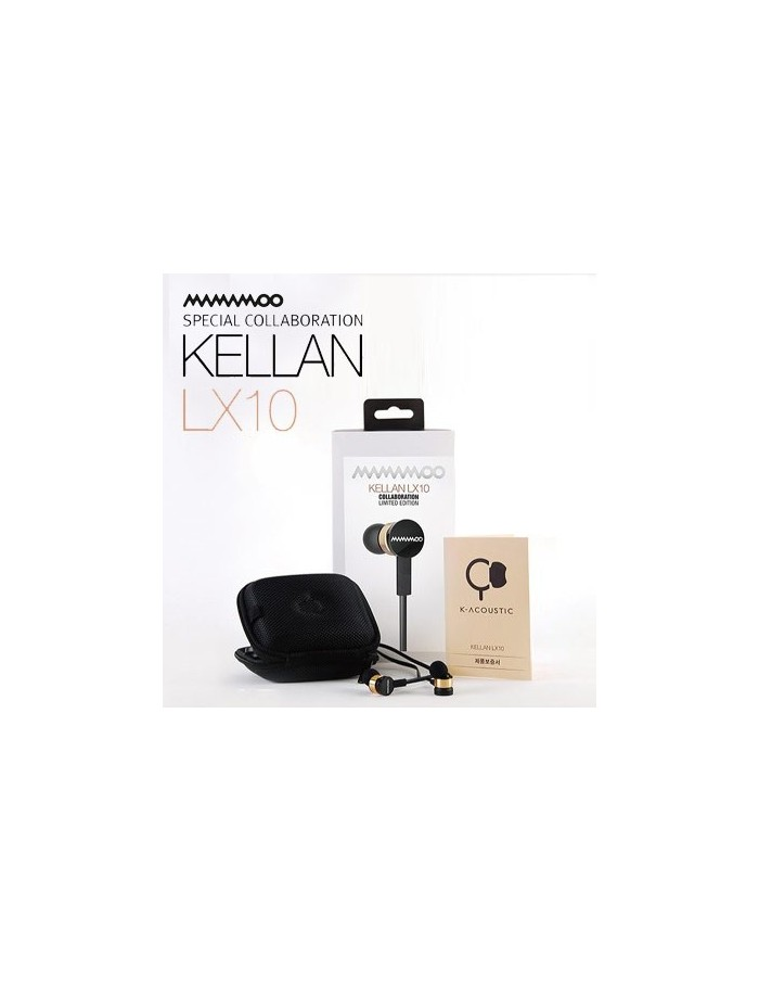 MAMAMOO Official Earphones (Special Collaboration KELLAN LX10) [Pre-Order]