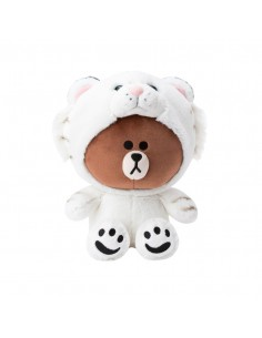 [LINE FRIENDS Official Goods] Snow Brown  Doll (25cm)