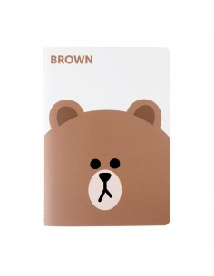 [LINE FRIENDS Official Goods] Brown Note Season 2 (Big)