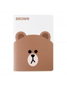 [LINE FRIENDS Official Goods] Brown Note Season 2 (Big)