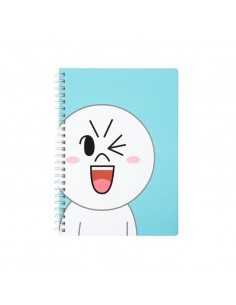 [LINE FRIENDS Official Goods] Moon Line Spring Note A5