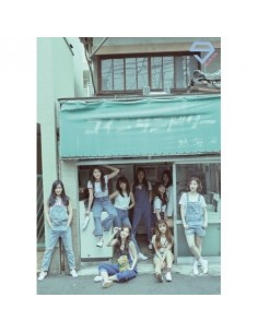 DIA 2th Album - YOLO [BLUE DIA ver] CD + Poster
