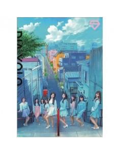 DIA 2th Album - YOLO [PINK DIA ver] CD + Poster