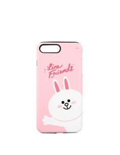 [LINE FRIENDS Goods] Pink Hello Cony iPhone7+ Glossy Case