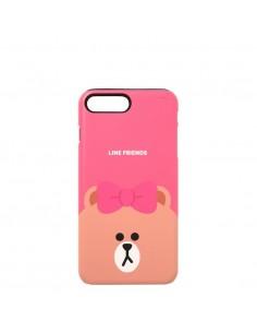 [LINE FRIENDS Goods] Hot Pink Choco iPhone7+ Guardup Matt Case