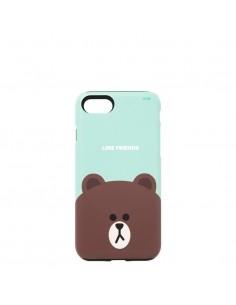 [LINE FRIENDS Goods] Mint Brown iPhone7 Guardup Matt Case