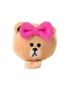[LINE FRIENDS Goods] Choco Face Doll Hairpin