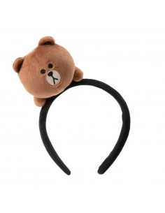 [LINE FRIENDS Goods] Brown Face Doll Hairband