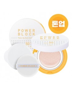 [A'PIEU] Power Block Tone Up Sun Cushion SPF50+/PA++++ 14g