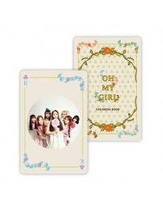 OH My Girl - Coloring Book : Trump Card