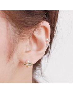 [AS276] Caster Ear-cuff