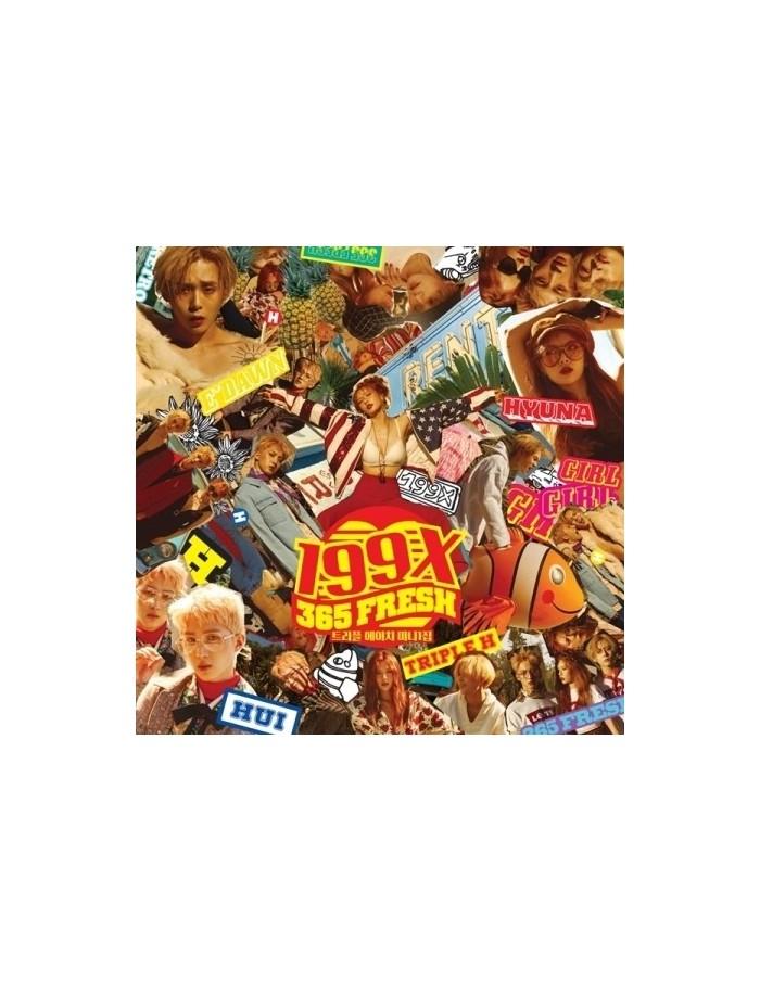 Triple H 1st Mini Album - 199X CD + Poster