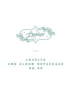 LOVELYZ 2nd Repackage Album - 지금, 우리 CD