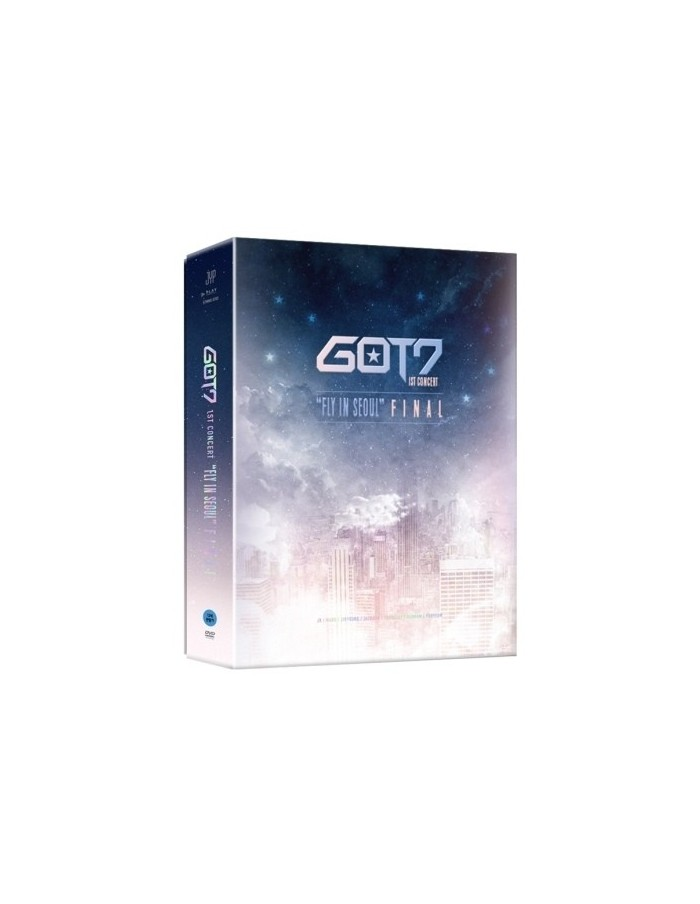 "GOT7 - 1st CONCERT ""FLY IN SEOUL"" FINAL DVD (3DISC)"