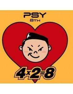 PSY 8th Album - 4X2 : 8 CD