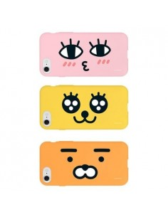 [ KAKAO FRIENDS ] KAKAO Full Face Soft Jelly PHONE CASE Type.C - FOR iPhone