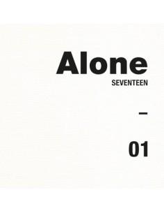 SEVENTEEN 4th Mini Album - AL1 (Ver.1 Alone[1])  CD + Poster