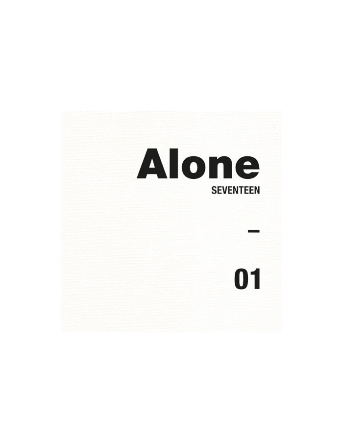 SEVENTEEN 4th Mini Album - AL1 (Ver.1 Alone[1])  CD + Poster