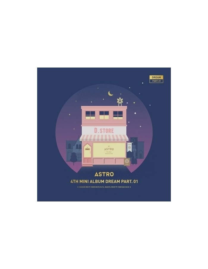 ASTRO 4th Mini Album - Dream Part.01 (Ver. NIGHT) CD + Poster