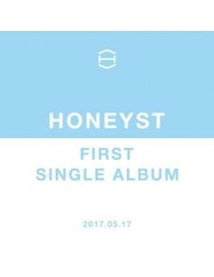 HONEYST 1st Single Album CD + Poster