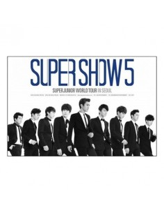 [Poster] Super Junior - Super Show 5 DVD Poster
