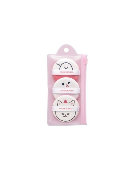 [Etude House] My Beauty Tool - Funny Air Puff (3pcs)