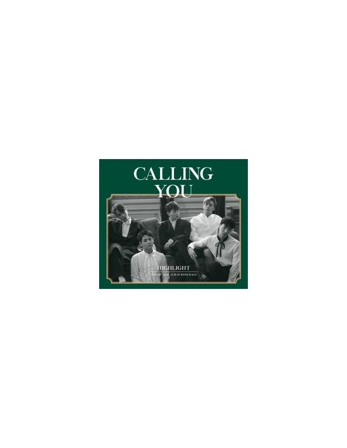 HIGHLIGHT 1st Mini Album Repackage - CALL YOU CD + Poster