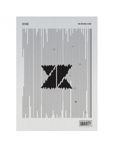 KNK 1nd Single Album - GRAVITY CD + Poster