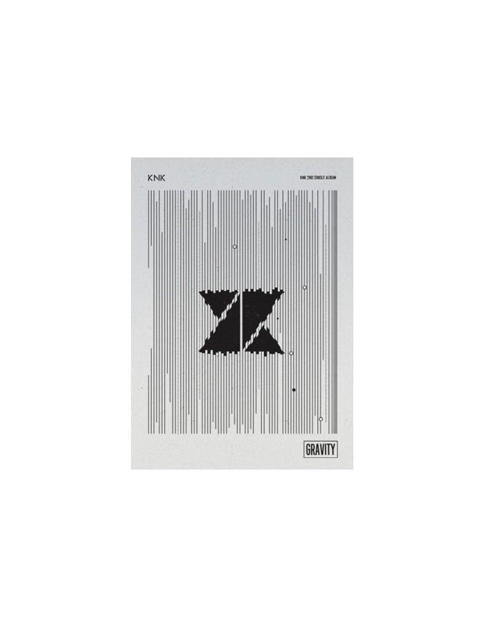 KNK 1nd Single Album - GRAVITY CD + Poster