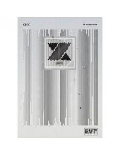 [KIHNO Version] KNK 2nd Single Album - GRAVITY CD + Poster