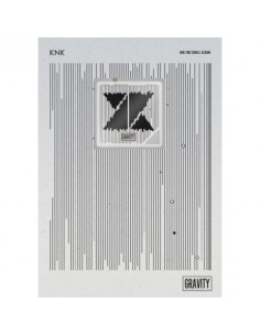 [KIHNO Version] KNK 2nd Single Album - GRAVITY CD + Poster