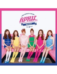 APRIL 2nd Single Album - MAYDAY CD + Poster