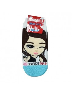 TWICE 1 Pair of Character Socks - Mina