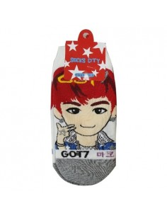 1 Pair of Character Socks - GOT7 MARK Ver.2