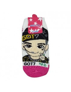 1 Pair of Character Socks - GOT7 Jackson
