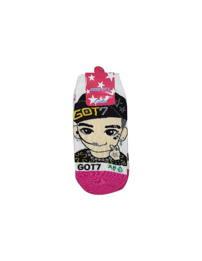 1 Pair of Character Socks - GOT7 Jackson