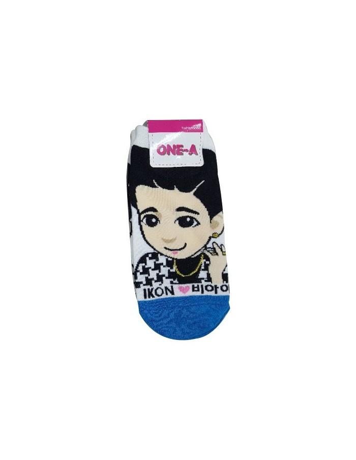 1 Pair of Character Socks - iKON B.I