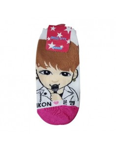 1 Pair of Character Socks - iKON Yoon-Hyeong