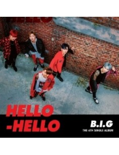 B.I.G 6th Single Album - HELLO HELLO CD + Poster