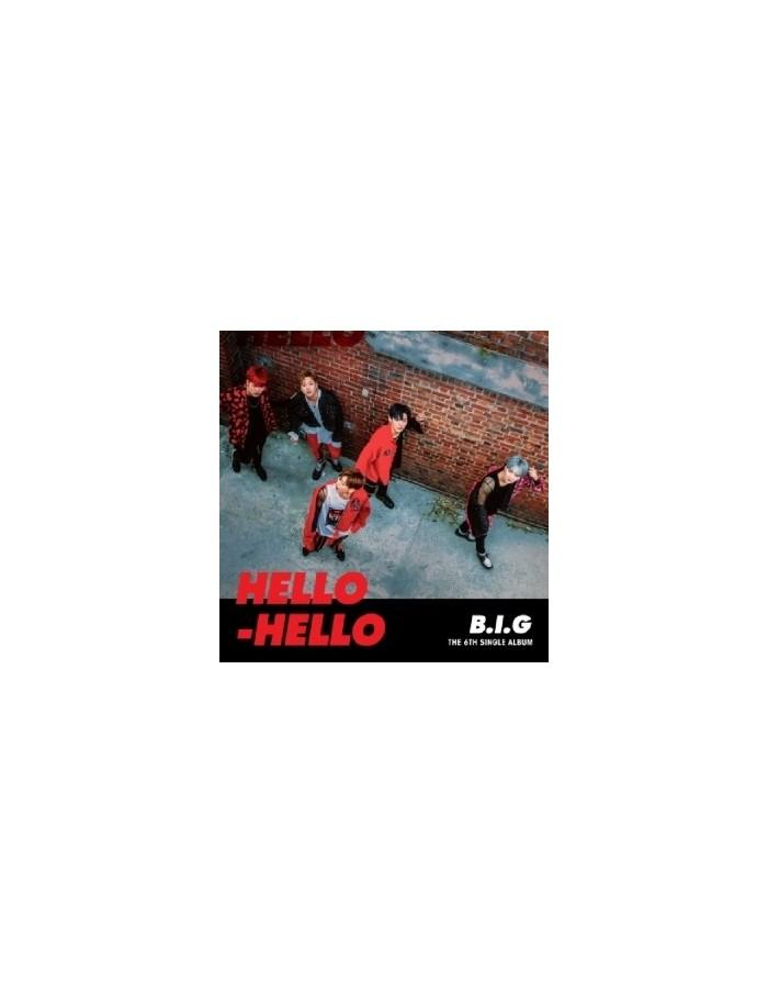 B.I.G 6th Single Album - HELLO HELLO CD + Poster